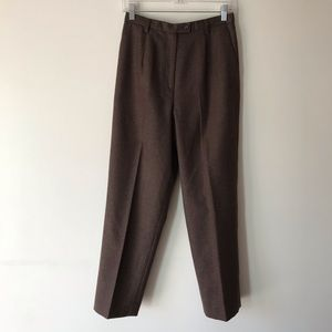 Vintage Pendleton virgin wool dress pants 8P